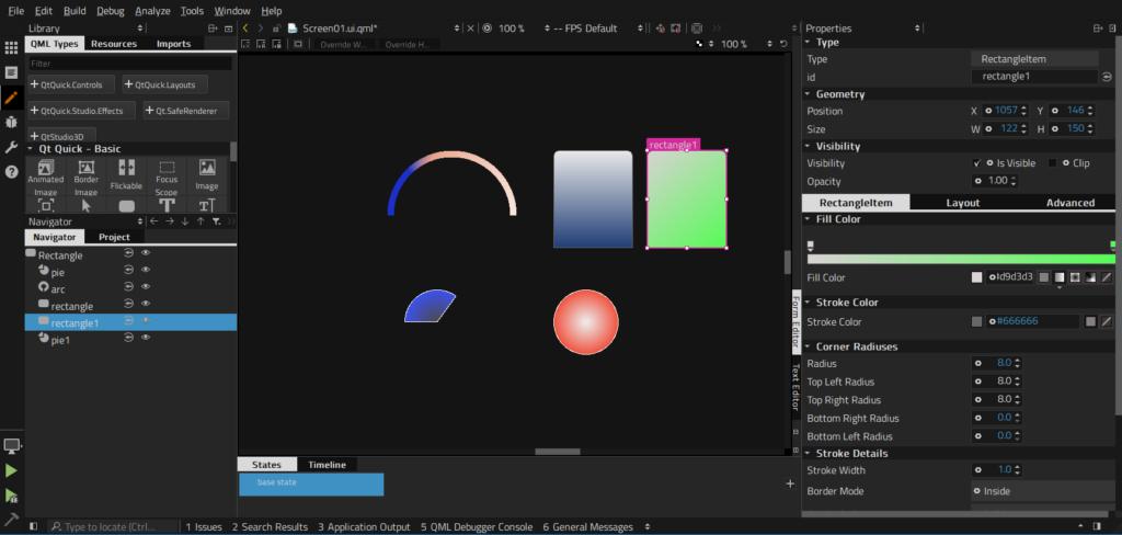 آموزش کار با qt design studio