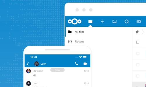 اپلیکیشن موبایل برای کار با nextcloud