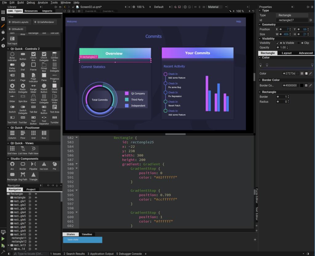 qt design studio نسخه بتای جدید منتشر شد